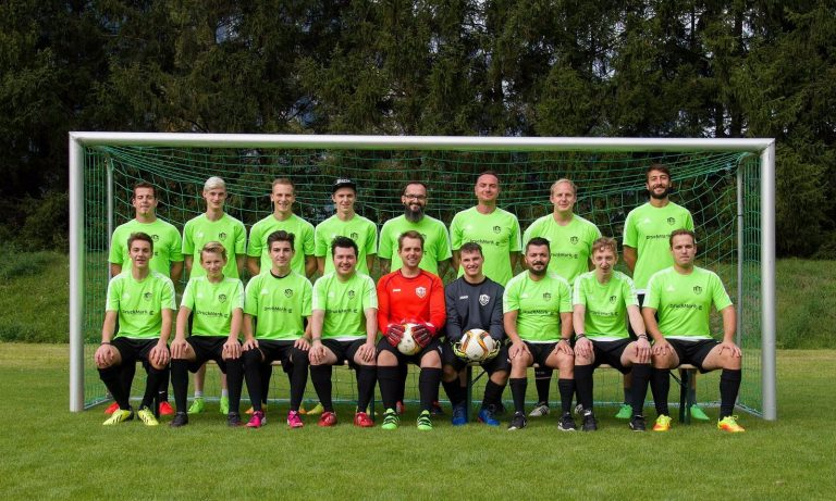 Mannschaftsfoto kickers